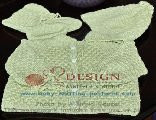 gratis strikkeoppskrifter til baby