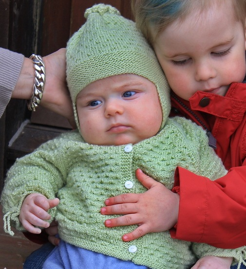 Knitting Ideas For Babies : Free baby knitting patterns pattern