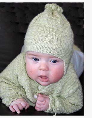 Få den skjønne baby strikkeoppskrifter gratis