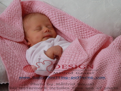 Knitting Pattern For Newborn Blanket : KNIT BLANKETS PATTERNS 1000 Free Patterns