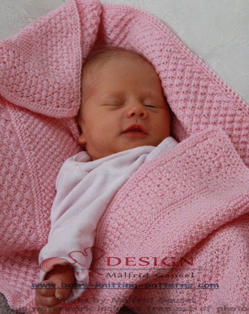 Best Knitting Stitches For Baby Blanket : Baby blanket knitting patterns knitting patterns for baby blanket
