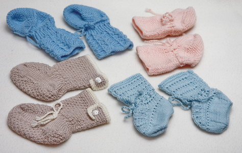 baby sock pattern | knit baby socks | baby socks knitting patterns