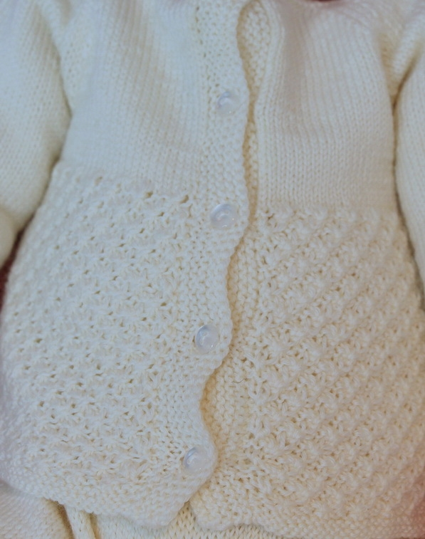 Gorgeous Baby Dress Knitting Pattern