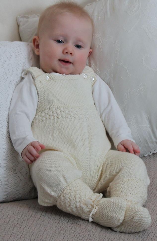 Wunderschöne Strickanleitung für Babies