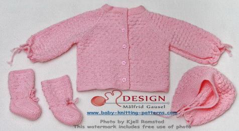 baby strikkeoppskrifter gratis