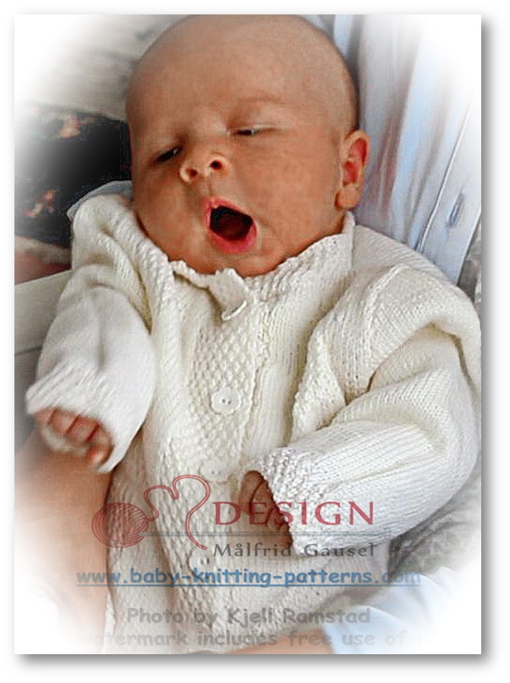 newborn baby knitting patterns