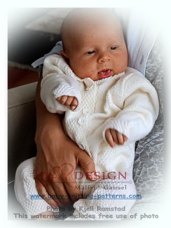 stricken für baby