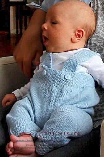 Babykleider stricken