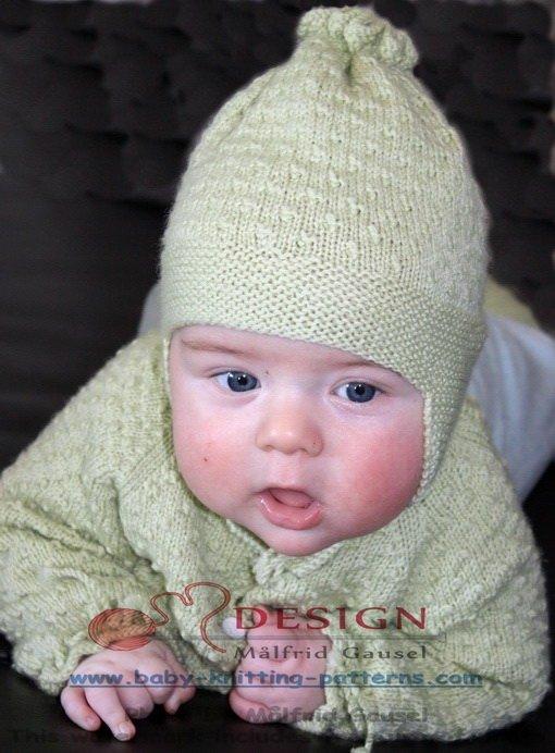strikkeoppskrifter baby gratis