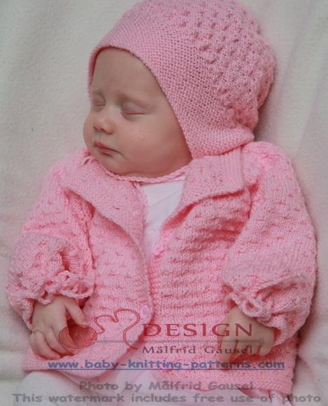 gratis baby strikkeoppskrifter