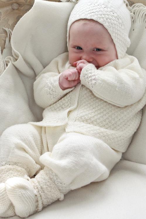 Baby strikkeoppskrifter